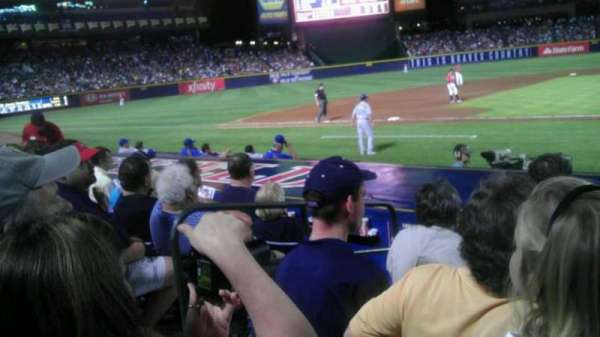 Turner Field, section: 110r, row: 10, seat: 4