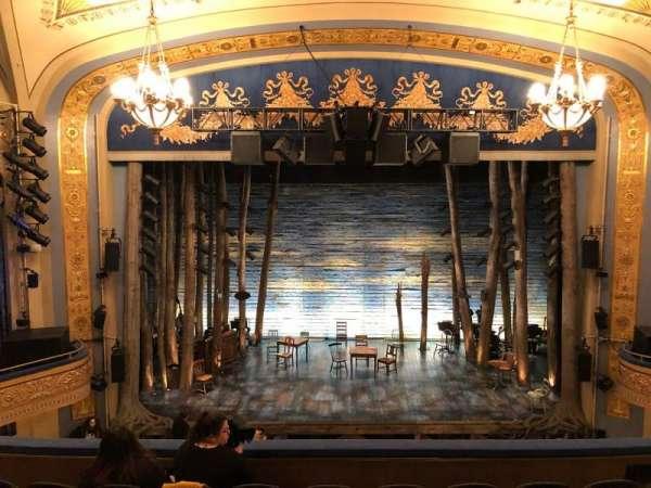 Gerald Schoenfeld Theatre Section Mezzanine Center Row F Seat 106