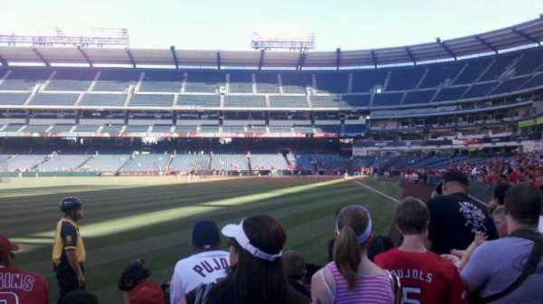 Angel Stadium, section: F101