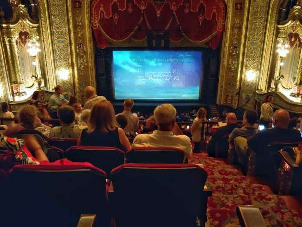 Providence Performing Arts Center, section: Balcony 1, row: H, seat: 101