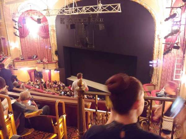 Bernard B. Jacobs Theatre, section: Mezzanine R, row: H, seat: 30