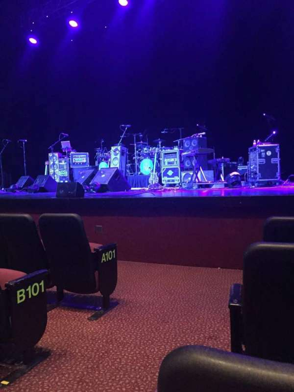 Tropicana Showroom, section: Orchestra Right, row: D, seat: 2
