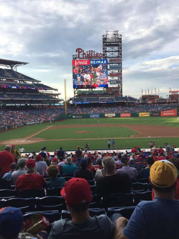 Citizens Bank Park, section: 117, row: 29, seat: 14