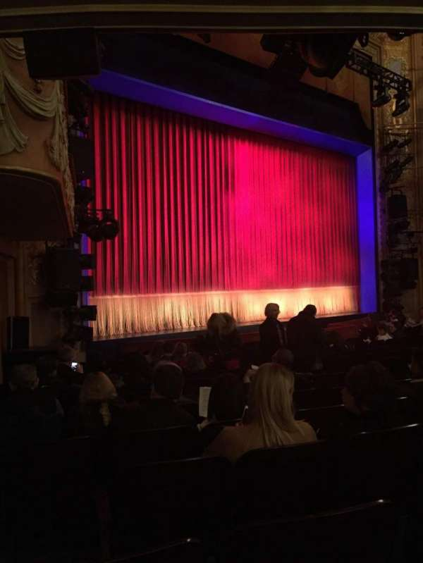 Longacre Theatre, section: Orchestra L, row: N, seat: 20