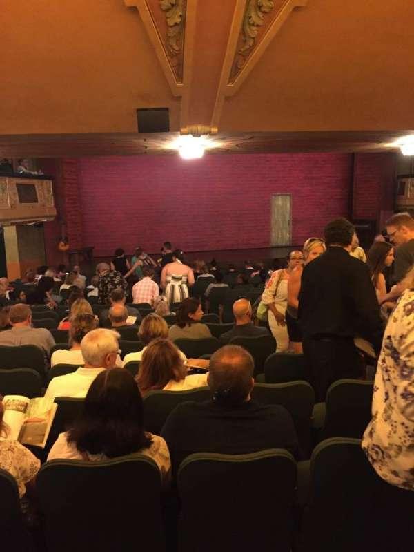 Shubert Theatre, section: Standing Room, seat: 7
