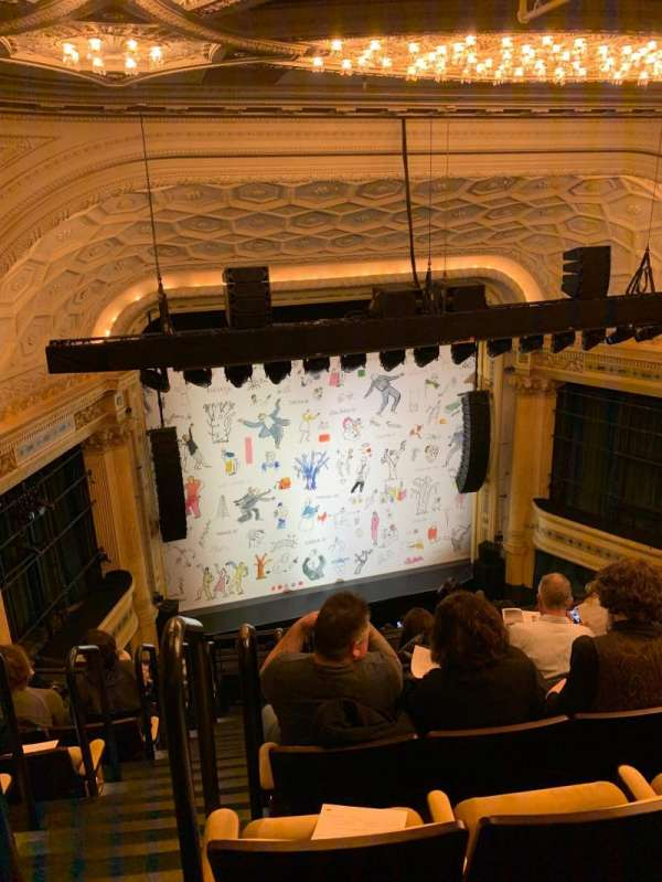 Hudson Theatre, section: Balcony C, row: H, seat: 101