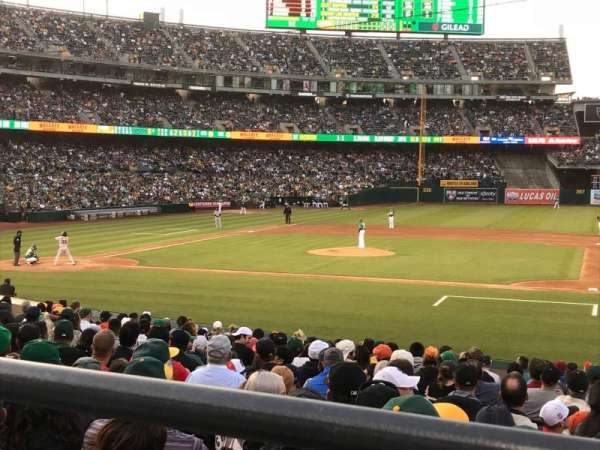 Oakland Alameda Coliseum, section: 112R, row: 21, seat: 3