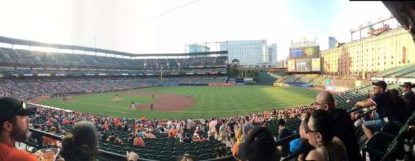 Oriole Park at Camden Yards, section: 15, row: 2, seat: 10