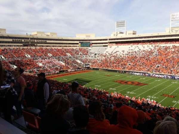 Boone Pickens Stadium, section: 302, row: 22