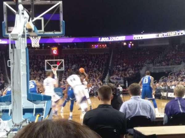 Intrust Bank Arena, section: 122, row: floor