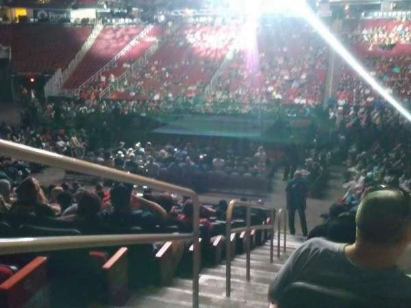 Toyota Center, section: 119, row: 12, seat: 16
