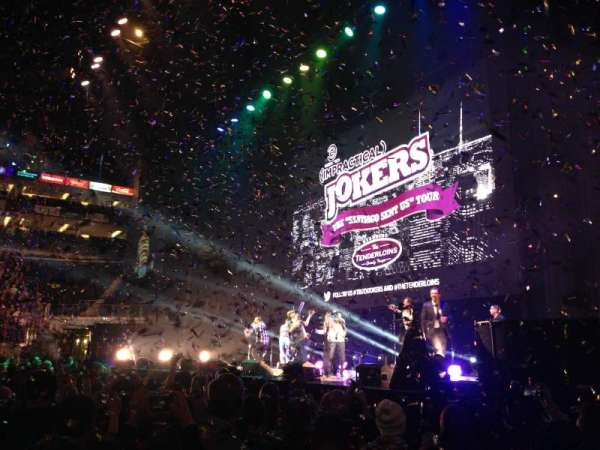 The O2 Arena, section: 112, row: A, seat: 381