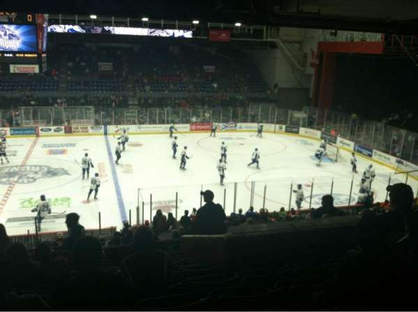 Upstate Medical University Arena, section: 5, row: J, seat: 5