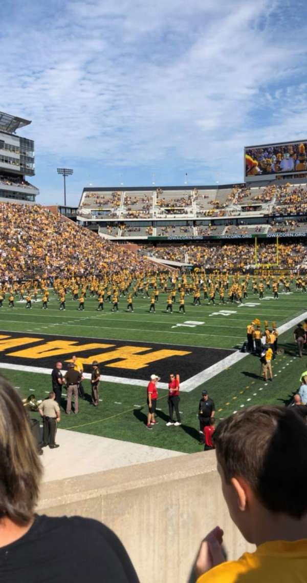 Kinnick Stadium, section: 111, row: 22, seat: 16