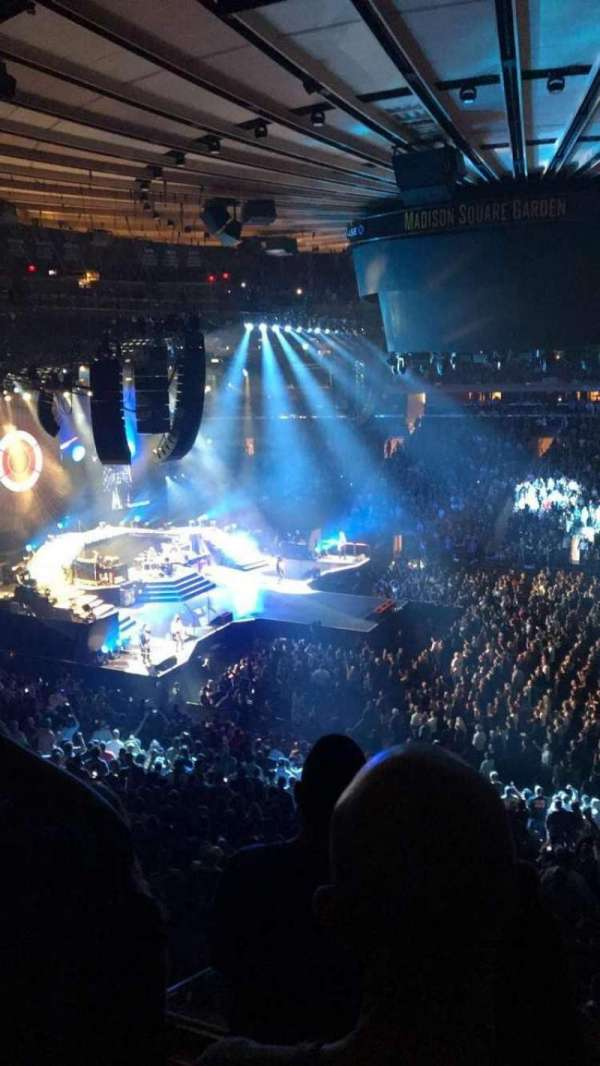 Madison Square Garden, section: 225, row: 3, seat: 5