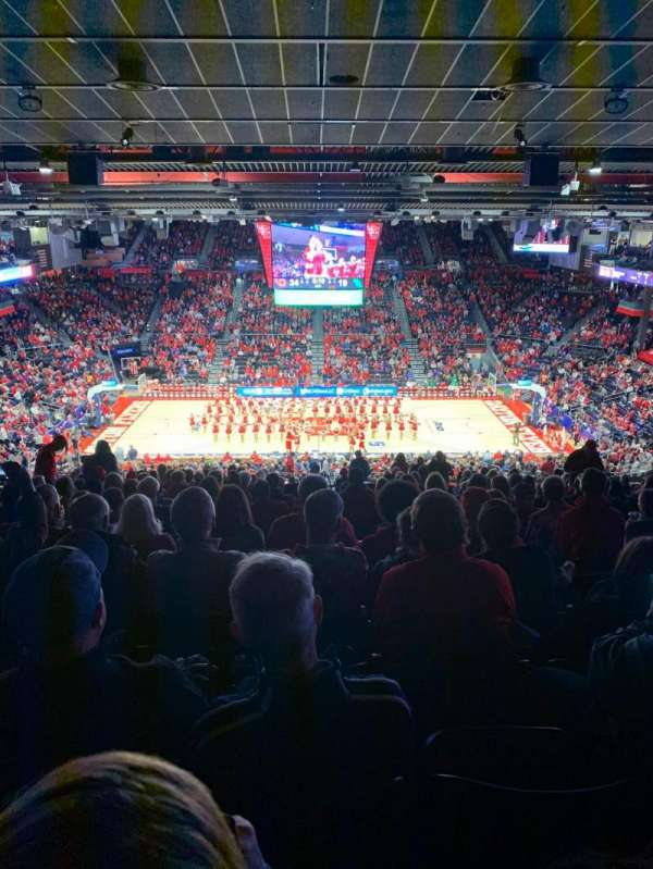 University of Dayton Arena, section: 411, row: b, seat: 10