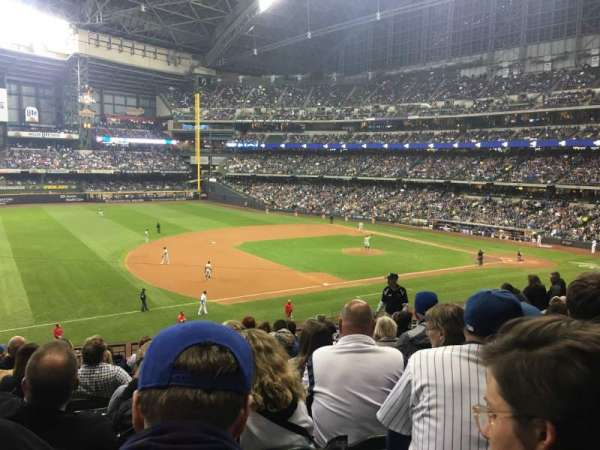 Miller Park, section: 227, row: 11, seat: 10