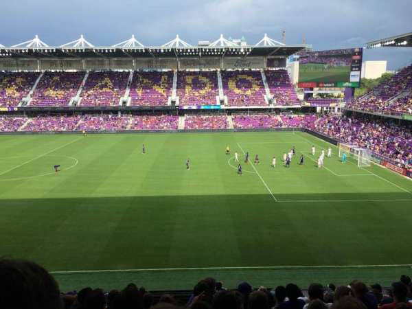 Exploria Stadium, section: 112, row: M, seat: 14