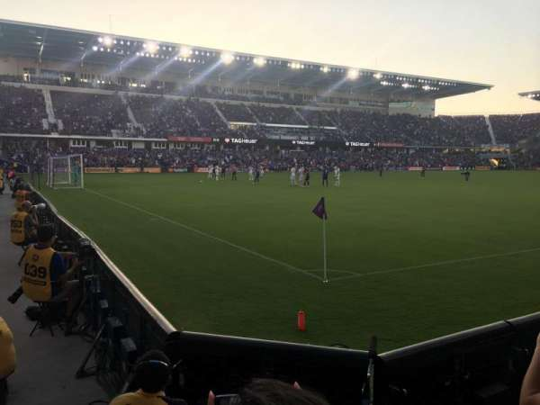Exploria Stadium, section: 1, row: C, seat: 12