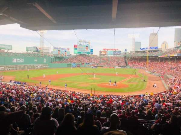 Fenway Park, section: Grandstand 23, row: 10, seat: 1