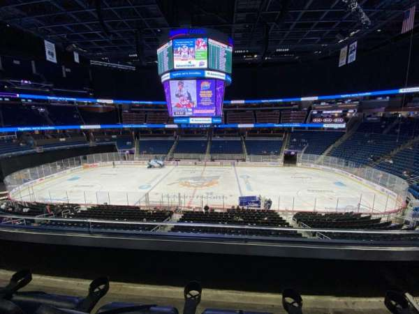 Amway Center, section: Club C, row: 2, seat: 11