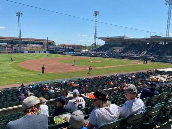 Joker Marchant Stadium, section: 213, row: K, seat: 10