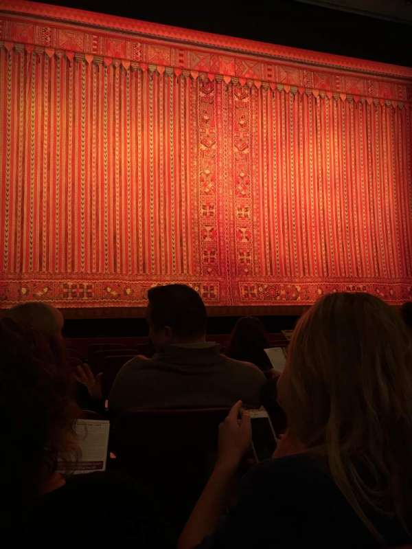 Cadillac Palace Theater, section: Orchestra C, row: G, seat: 102,103