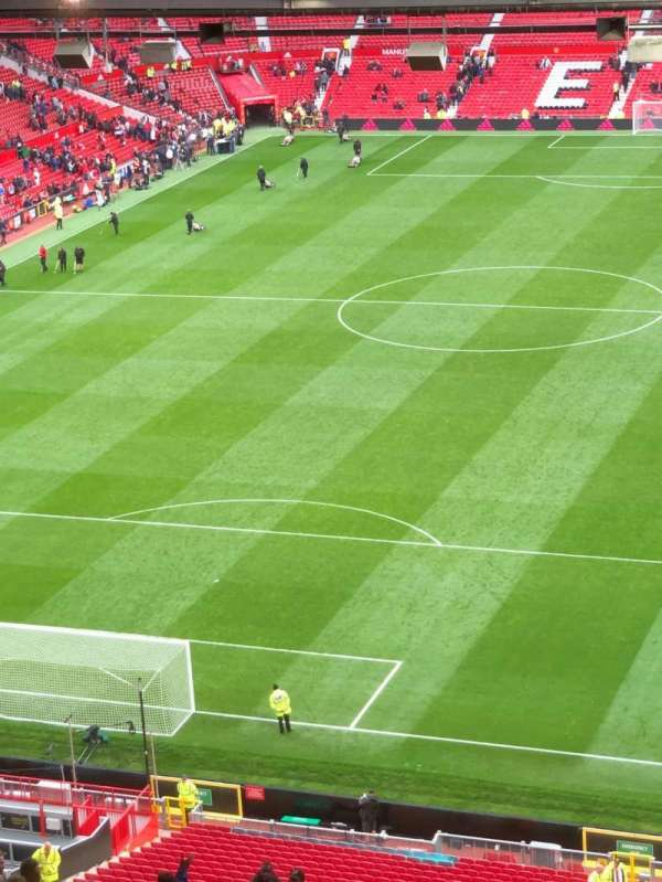 Old Trafford, section: E336, row: 34, seat: 24