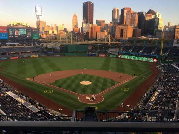 PNC Park, section: 316, row: A, seat: 28