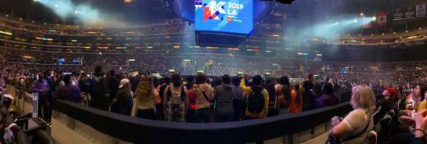 Staples Center, section: 111, row: 2