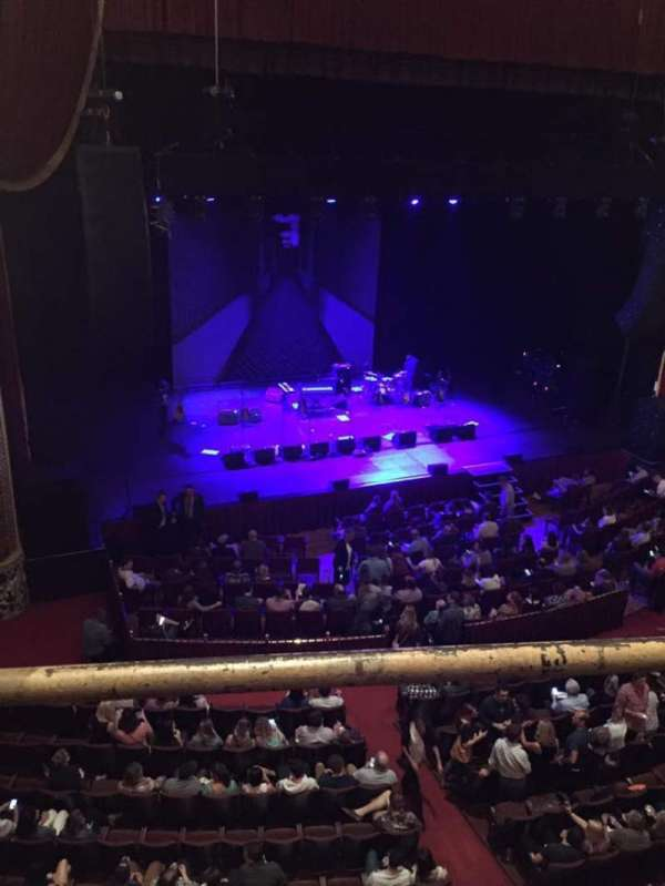 Wang Theatre, section: Mezzanine LC, row: A