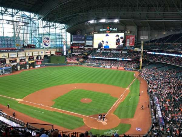 Minute Maid Park, section: 317, row: 9, seat: 5