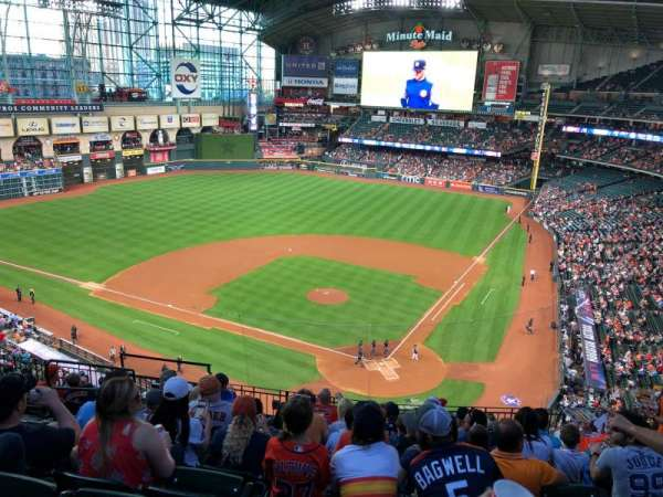 Minute Maid Park , section: 317, row: 9, seat: 5,6,7