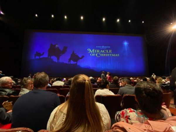 Sight & Sound Millennium Theatre, section: 102, row: O, seat: 47