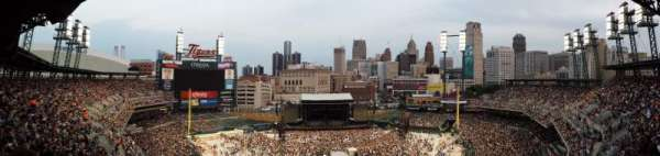 Comerica Park, section: 328, row: 20, seat: 28