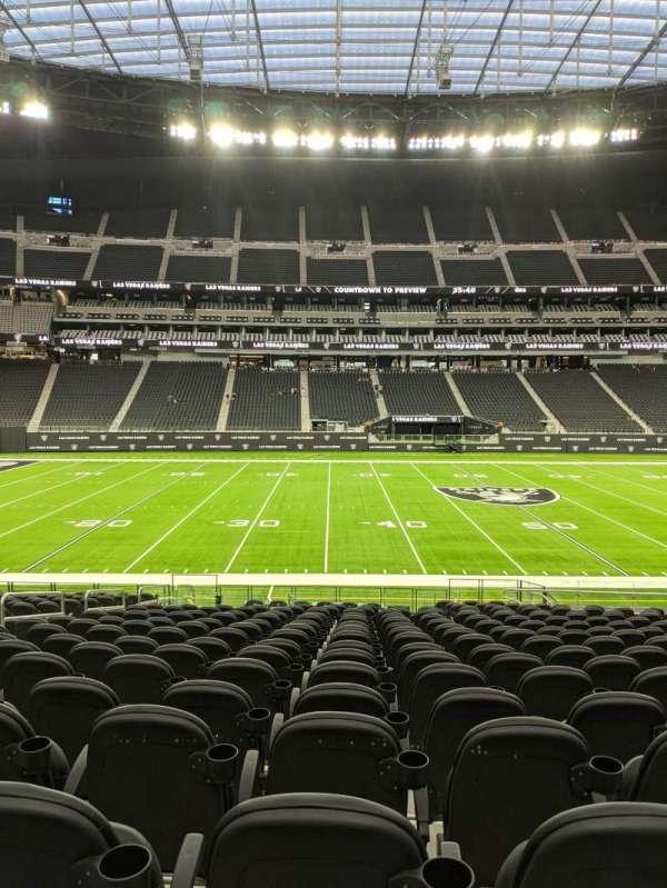 Allegiant Stadium, section: C135, row: 21, seat: 13-14