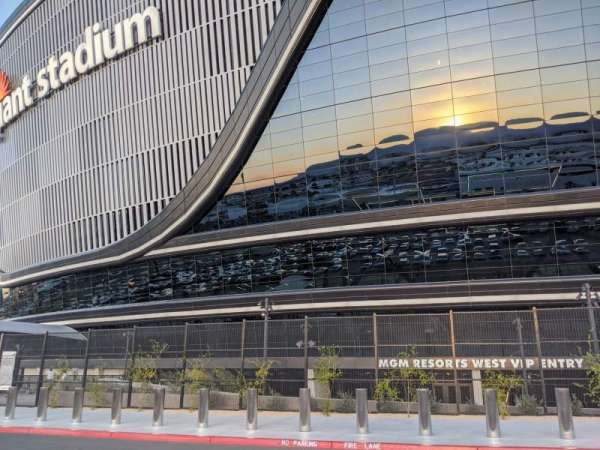 Allegiant Stadium, section: MGM Resorts West VIP Entry