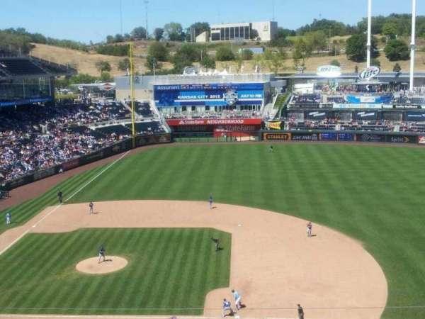 Kauffman Stadium, section: 429, row: J, seat: 18