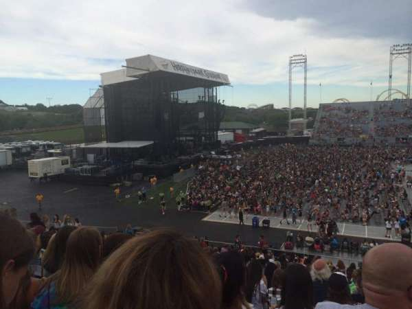 Hershey Park Stadium, section: 8, row: U, seat: 5