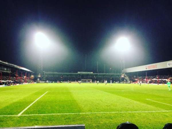 Griffin Park, section: BKR