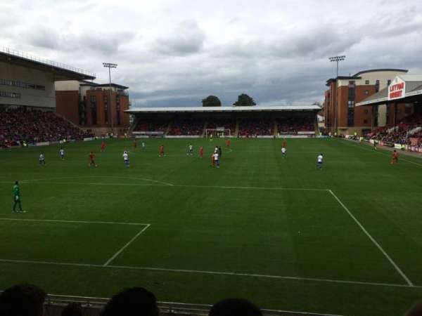 Brisbane Road, section: B, row: H, seat: 28