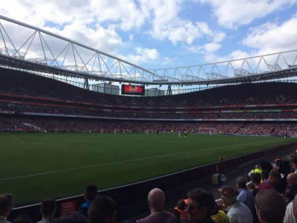 Emirates Stadium, section: 20, row: 6, seat: 628