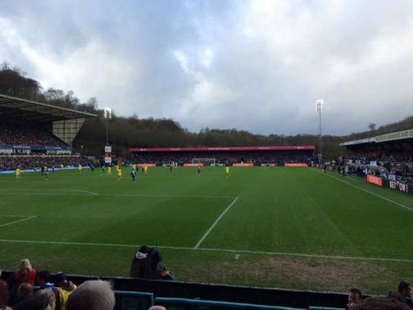 Adams Park, section: B, row: F, seat: 26