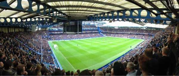 Stamford Bridge, row: 20, seat: 20