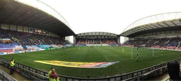 DW Stadium, section: NS5, row: E, seat: 117