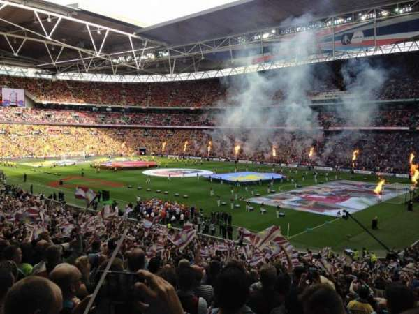 Wembley Stadium, section: 139, row: 40, seat: 170