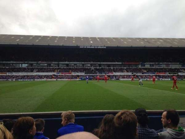 Portman Road, section: T, row: E, seat: 81