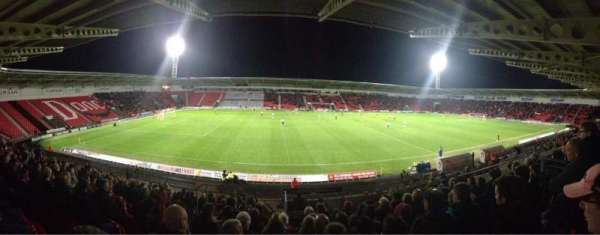 Keepmoat Stadium, section: West Stand, row: W, seat: 692