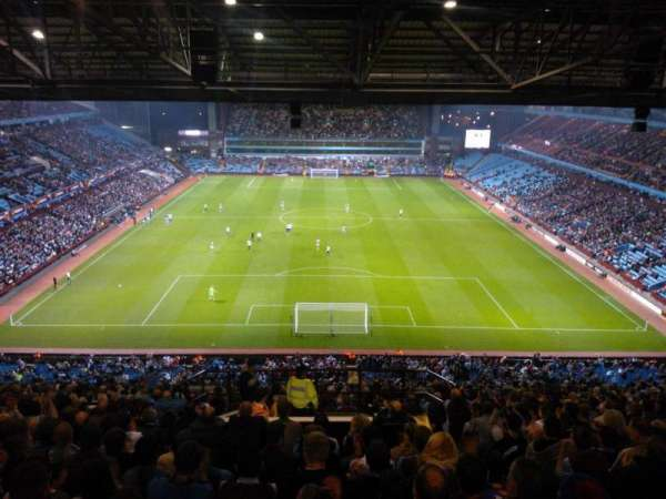 Villa Park, section: K5, row: 26, seat: 127