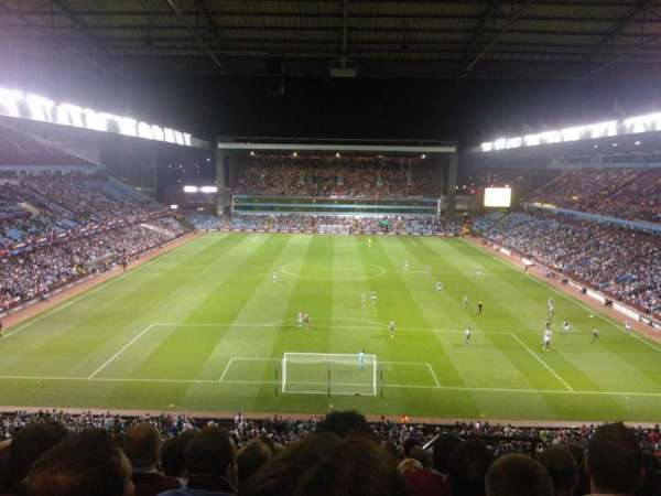 Villa Park, section: K5, row: 10, seat: 124